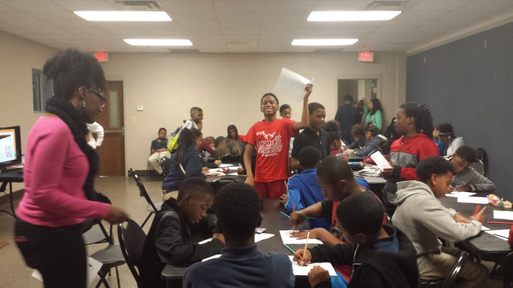 Boys and Girls Club Teen Writing Workshop