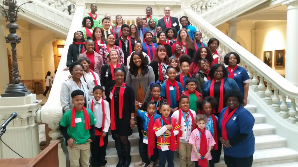Georgia Afterschool Network at the Georgia State Capitol
