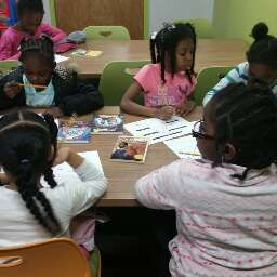 Boys and Girls Club Imagination Writing Station Workshop
