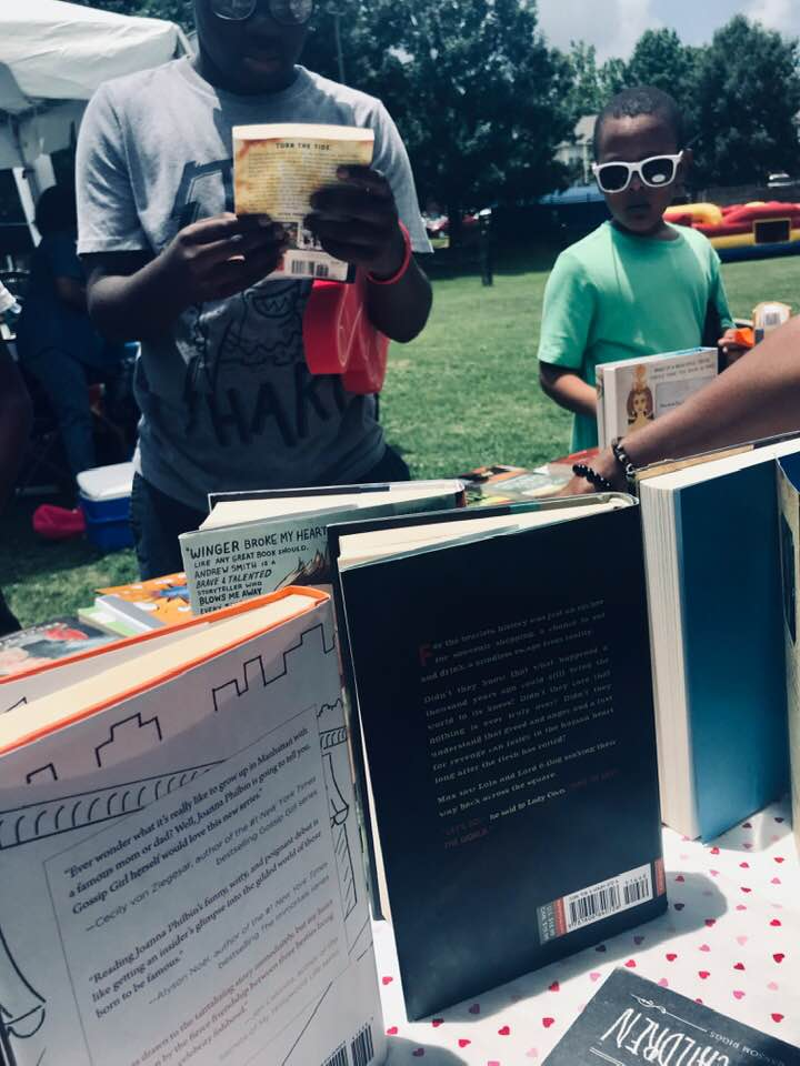 Community Outreach Book Giveaway in Atlanta, Georgia