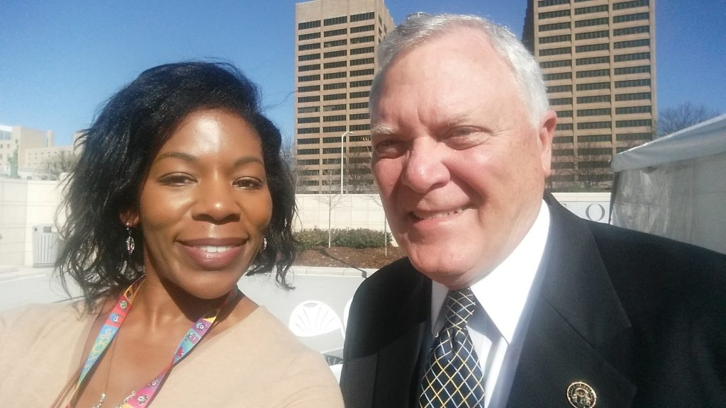 Governor Nathan Deal with Lift2Enrich Founder, Terri Whitmire